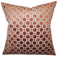 Shop for Kostya Copper Geometric 18-inch Feather and Down Filled Pillow. Get free shipping at Overstock.com - Your Online Home Decor Outlet Store! Get 5% in rewards with Club O!