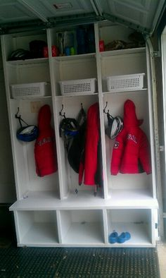 Garage lockers!