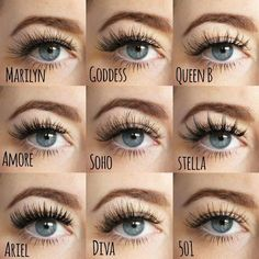 When done professionally eye lash extensions give you long lushes, beautiful lashes that look natural. Koko Lashes, Mink Eyelashes, False Lashes, Grow Eyelashes, Silk Lashes, Longer Eyelashes, Makeup Brushes, Eye Makeup, Makeup Geek