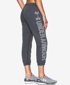 Under Armour Favorite Fleece Capri Pants - Black XXL
