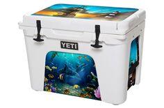 Jeff Wilkie Signature Series - Pirates Lighthouse - YETI Coolers – USA Tuff