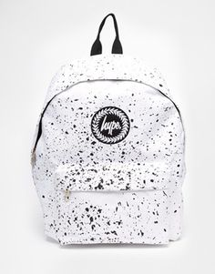 Enlarge Hype White Speckle Backpack