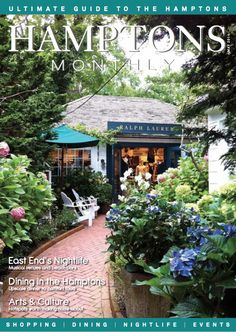 My iPhone photo of the Ralph Lauren store in Southampton made the cover of Hamptons Monthly May 2014