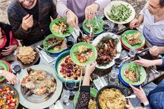The British-by-way-of-Jerusalem chef assembles a Middle Eastern banquet in London that is as visually stunning as it is delicious.