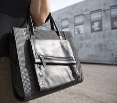 Adam in Black/ Denver/ Black. #hammittla #satchel #handbag