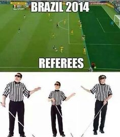 Fucking referees