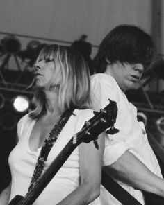 kim gordon and thurston moore. (i am so sad they are getting divorced. they gave me hope, you know?)