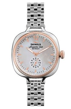 Shinola 'The Gomelsky' Bracelet Watch, 36mm available at #Nordstrom