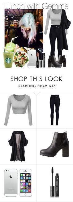 """Lunch with Gemma"" by lucybitch ❤ liked on Polyvore featuring J.TOMSON, Rodarte, Merci Me London, Charlotte Russe and LashFood"