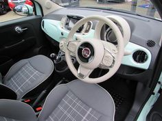 Image result for mint fiat 500 lounge
