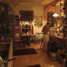 Bakery Interior, Coffee Shop Interior Design, Apartment Interior, Bakery Decor, Cozy Coffee Shop, Italy House, Cottage Interiors, Dream Decor, Sweet Home