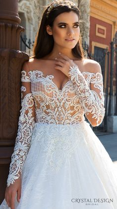 Freda by Crystal Design - The Blushing Bride boutique in Frisco, Texas