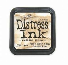 Ranger: Tim Holtz Distress Ink Pad - Antique Linen