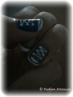 converse nails Converse Nails, Nailed It, Aristocats, My Nails, Nail Art, My Style, Board, Fashion, Moda