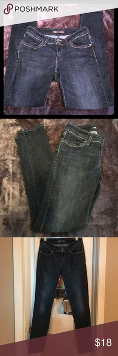Levi's skinny jeans These Levi's are 529 Curvy fit size 4. Dark wash. They are very flattering! Levi's Jeans