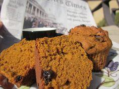 Vegan Pumpkin Muffins (Low fat/Low sugar!)
