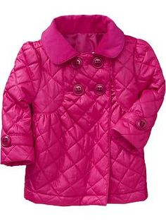 Quilted Double-Breasted Jackets for Baby | Old Navy