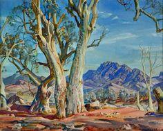 Works on Paper - Hans Heysen - Page 5 - Australian Art Auction Records Landscape Tattoo, Landscape Art, Landscape Paintings, Landscapes, Canvas Paintings, Australian Painting, Australian Artists, Landscaping On A Hill, Landscaping Tips