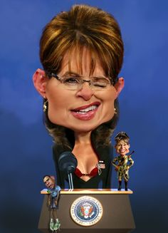 Sarah Palin.The Queen of Annoying.