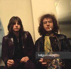 Greg Lake and Robert Fripp Uk Music, Music Pics, Music Is Life, E Drum, Greg Lake, Emerson Lake & Palmer, King Crimson, Best Rock Bands, Rock Of Ages