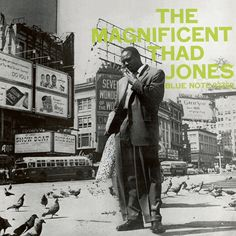 Thad Jones in an outtake for the LP The Magnificent Thad Jones in 1956 (Photo by Francis Wolff)