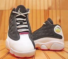 best authentic d5b4e e9e8b Sz 12 C Nike Air Jordan 13 Retro XIII GP PS Black Pink White 439669 008 for  sale online   eBay