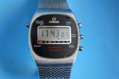 OMEGA SPEEDMASTER quartz DIGITAL chronograph cal. 1620 VERY RARE WORKING