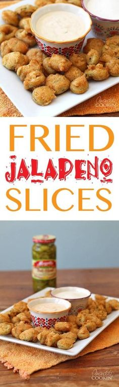 These crispy deep fried jalapeno slices appetizers are perfect for a party, the… by susie