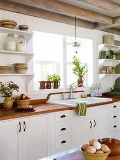 All About Wood Countertops Kitchen With Countertopswooden Diywhite Wash Cabinets