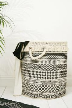 Shop Geo Woven Laundry Basket at Urban Outfitters today. We carry all the latest styles, colours and brands for you to choose from right here. Bathroom Laundry Baskets, Woven Laundry Basket, Laundry Storage, Laundry Room, Urban Outfitters, Geo Design, Dresser Bed, Dressers, College Supplies
