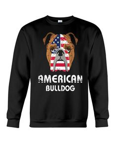 American Bulldog Dog Dog Lover Gift Bull T-Shirt - Black bulldog drink, french bulldog accessories, french bulldog black #bulldogbesties #bulldogingles #bulldogfeature, back to school, aesthetic wallpaper, y2k fashion