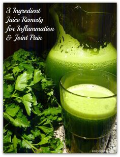 3 Ingredient Juice Recipe for Inflammation & Joint Pain - Virtually Yours