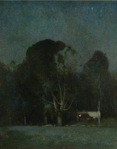 Emil Carlsen, Night, Old Windham 1904. 1910