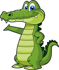 Cartoon Alligator 5