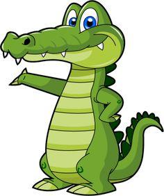 Cartoon Alligator 5