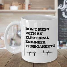 Electrical Engineer Mug Gift For Etsy EtsyMugs SuchMugs Gag Gifts