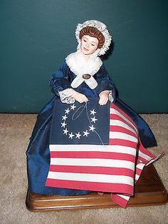 "COLLECTIBLE! RARE LIMITED EDITION SIMPICH DOLL ""BETSY ROSS"" 2004 282/1000"