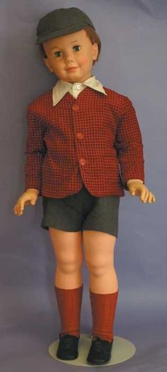 """Ideal Doll Peter Playpal   7559: Vintage Ideal Doll - 38"""" Vinyl Peter Playpal : Lot 7559"""