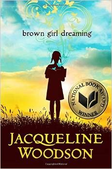 Brown Girl Dreaming by Jaqueline Woodson won the 2014 National Book Award for Young People's Literature. J 811.54 WOO Grades 5-8  This  stunning memoir of her childhood in Ohio, South Carolina and New York City is told in poems. Through her memories, the reader sees the problems of segregation in the South in the 1960's and the realities of moving north for a better life.  We also are transported to warm family moments. This is truly a memorable and enjoyable read!