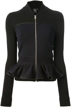 McQ by Alexander McQueen Zipped Jacket - Lyst