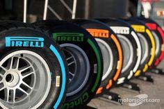 The Pirelli tyre line up