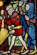 How to create a stained glass panel like in the medieval ages - from Victoria and Albert Museum a video follows below