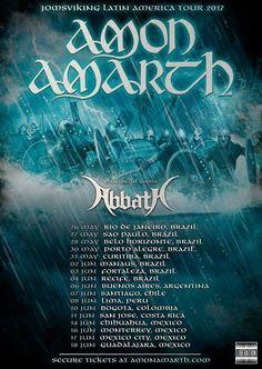 Amon Amarth y Abbath en México | Pólvora, La Explosión del Rock