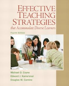 Effective Teaching Strategies that Accommodate « LibraryUserGroup.com – The Library of Library User Group