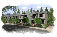 hybridCore Homes #multifamilyhomes #design #architect #home #healdsburg