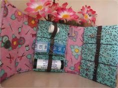 Caixa de costura de bolsa