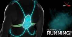 Nothing will ever come close. Ultimate safety gear for running in the dark! Tracer360 by Noxgear