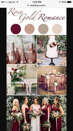 I like this color combo. Grown and sexy.  I also really like the bride and groom's table.