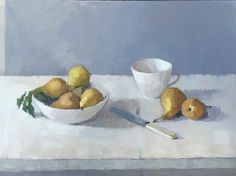 Allotment Pears oil on linen#still-life