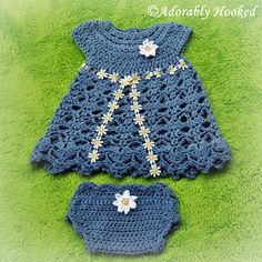 Daisy Dress and Diaper Cover  Gosh, I love this thing!